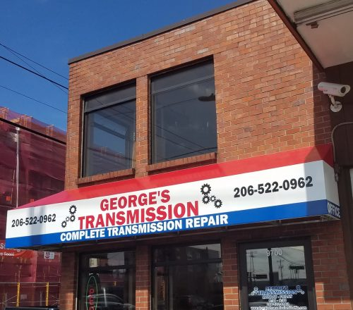 George's Transmission repair shop in Seattle