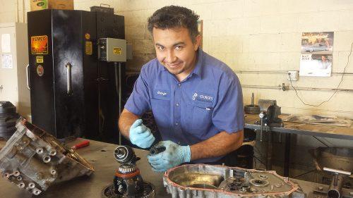 Transmission repair man