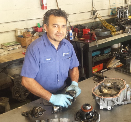 Transmission technician at Georges Transmission in Seattle